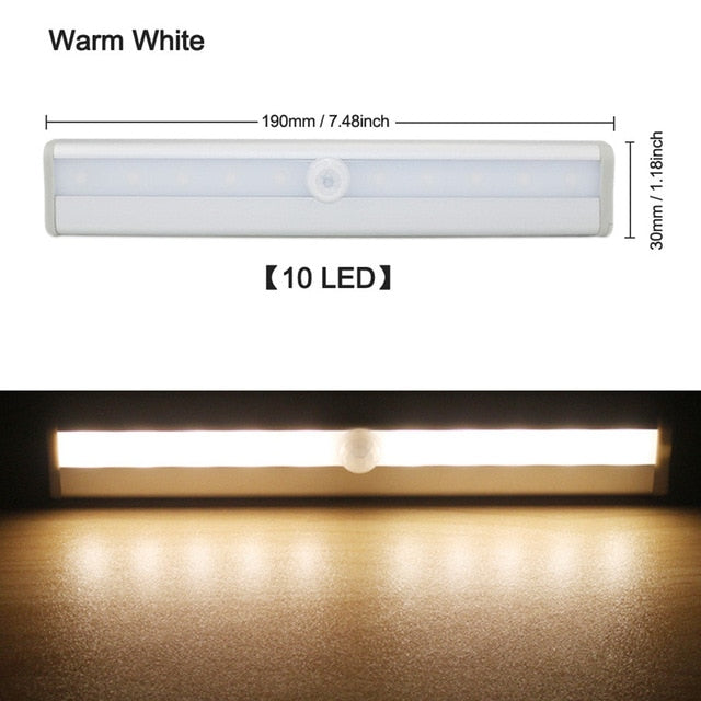 6/10 LEDs PIR LED Motion Sensor Light-LuxylGroup, Inc.