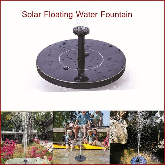 Mini Solar Garden Water Fountain-LuxylGroup, Inc.