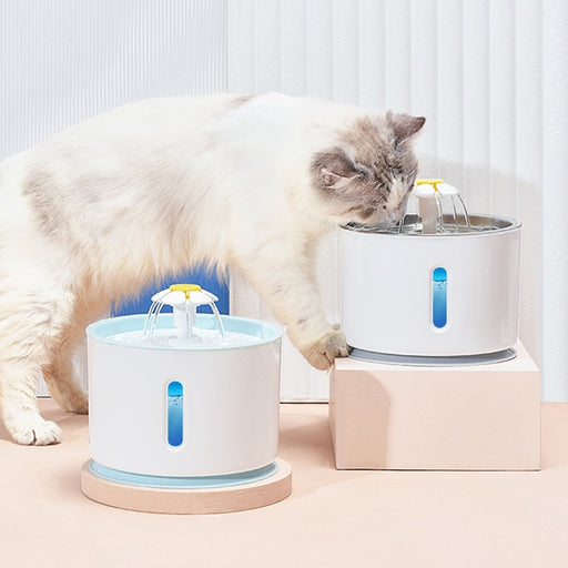 Cat Water Fountain USB Automatic Water Dispenser Super Quiet-LuxylGroup, Inc.