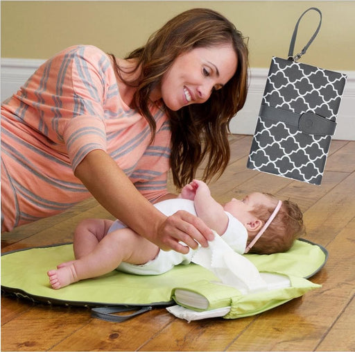 Waterproof baby diaper changing pad-Changing Pads & Covers-LuxylGroup, Inc.