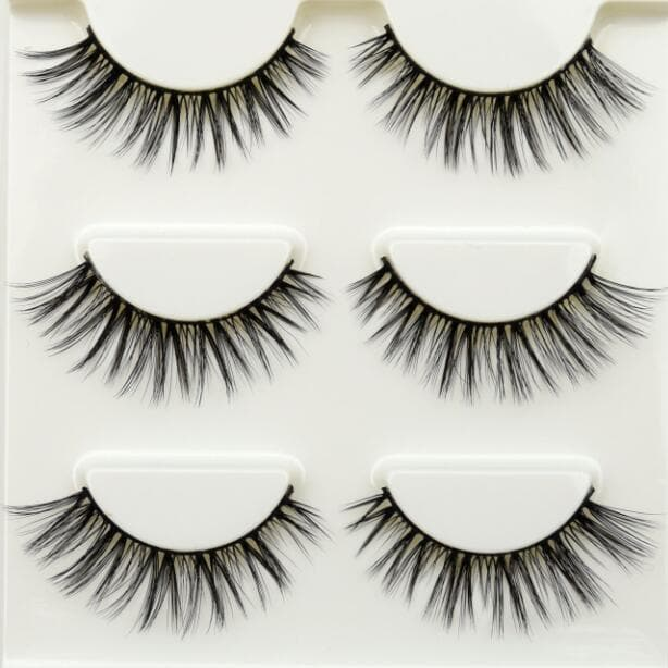 Crisscross Thick Natural Fake Eye Lashes - LuxylGroup