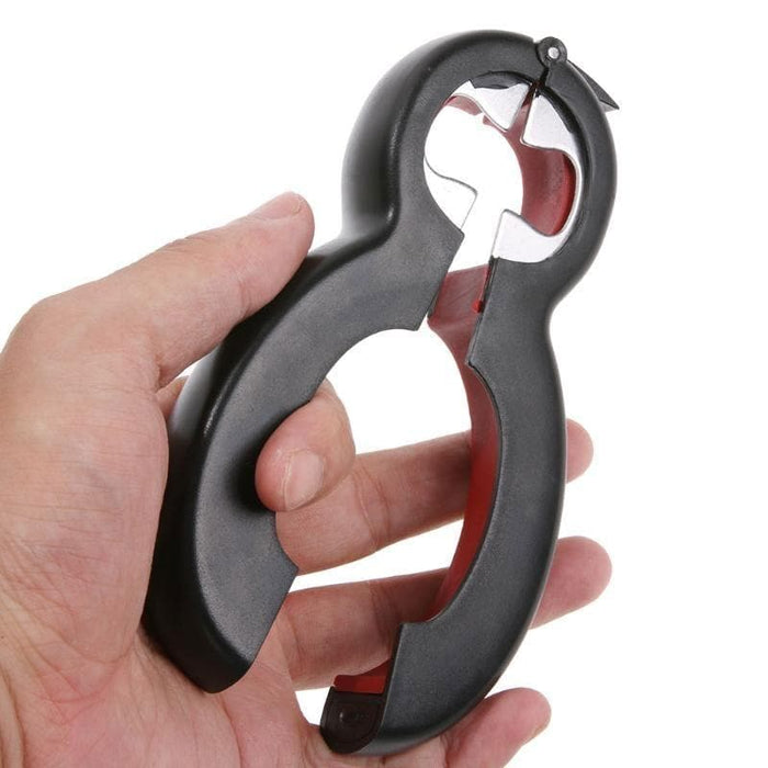 6 in 1 Multi Function Twist Bottle Opener-Openers-LuxylGroup, Inc.
