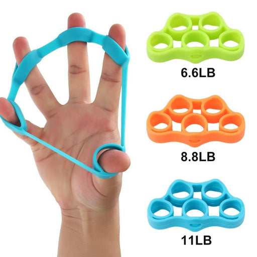 Rubber Finger Resistance Band - LuxylGroup