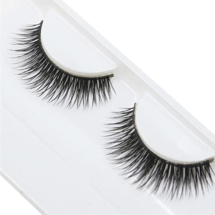 Natural Beauty Dense A Pair False Eyelashes - LuxylGroup