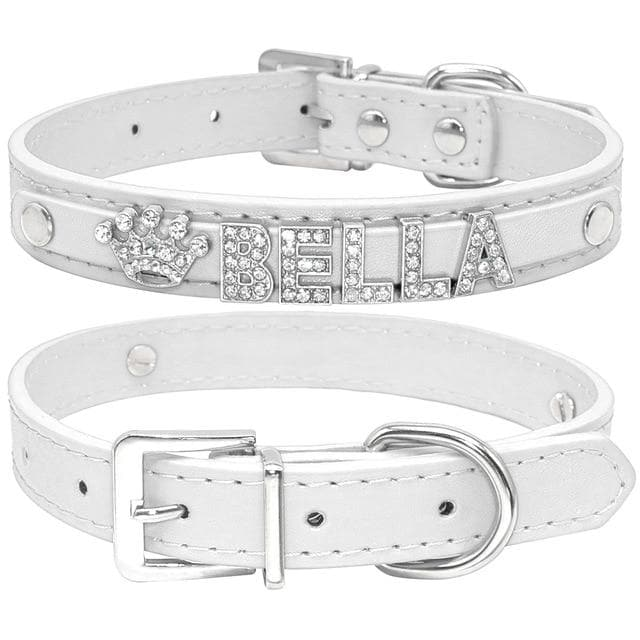 Bling Rhinestone Puppy Dog Collars-Collars-LuxylGroup, Inc.