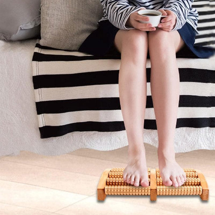 Wooden Foot Massager Roller - LuxylGroup