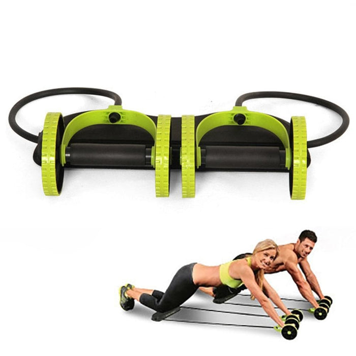 Ab Roller Wheel Trainer With Mat - LuxylGroup