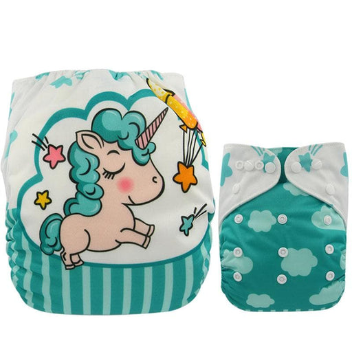 Unicorn Print Nappies Changing Cover-Nappies-LuxylGroup, Inc.