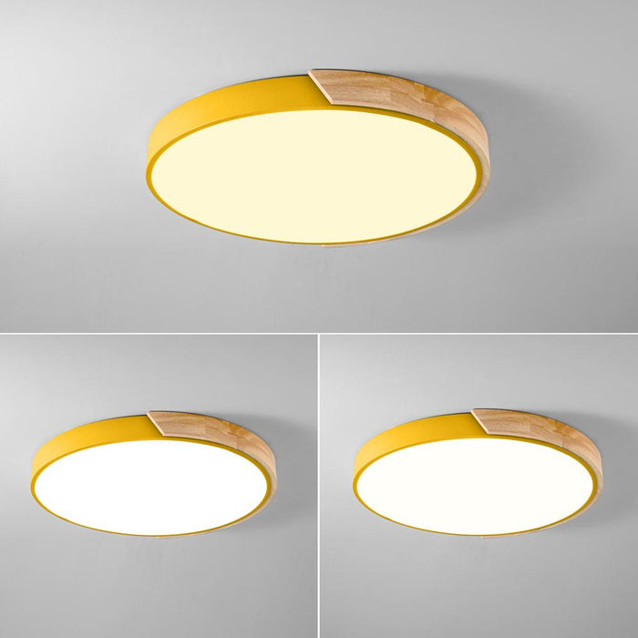 Nordic Wood LED Ceiling Lights - LuxylGroup