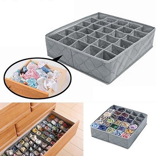 Non-woven Fabric Drawer Organizer Storage Box - LuxylGroup