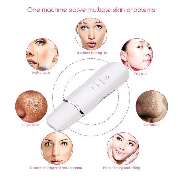 Ultrasonic Deep Cleaning Skin Scrubber - LuxylGroup