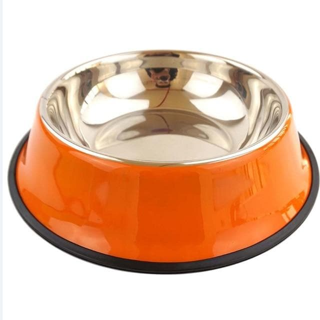 Anti Skid Stainless Steel Travel Feeding Bowl-Bowls-LuxylGroup, Inc.