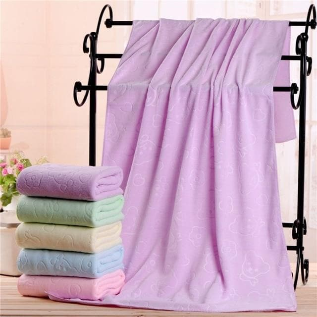 Microfiber Absorbent Bath Towel - LuxylGroup