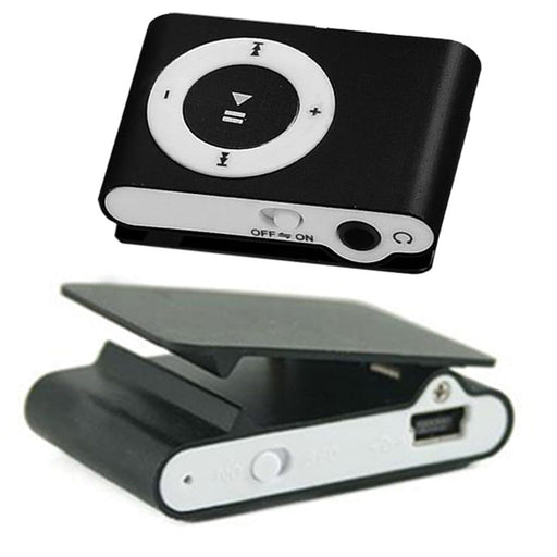 Mirror Portable Mini Clip MP3 Player - LuxylGroup