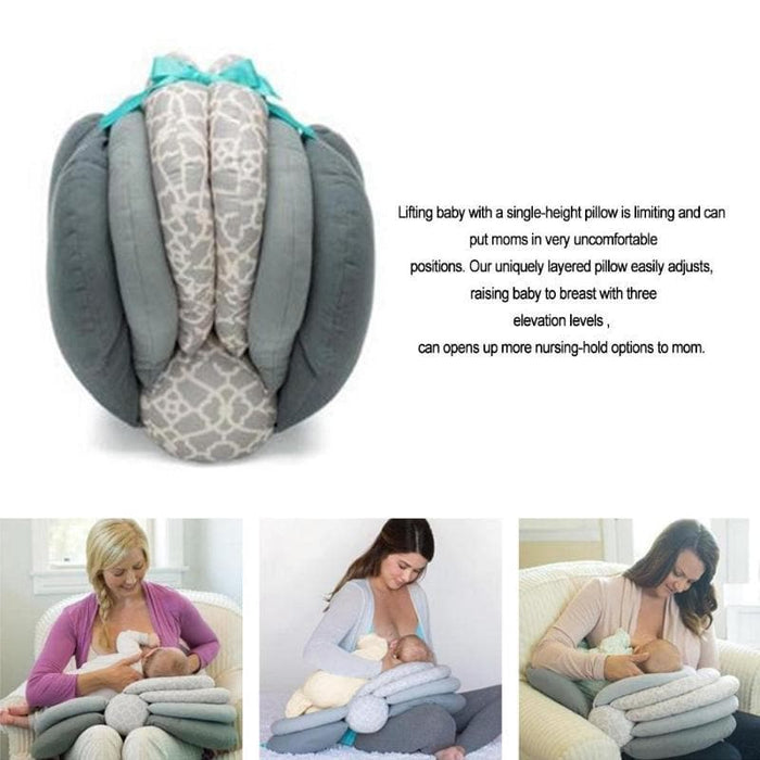 Model Cushion Infant Breastfeeding Pillows-Breastfeeding Pillows-LuxylGroup, Inc.
