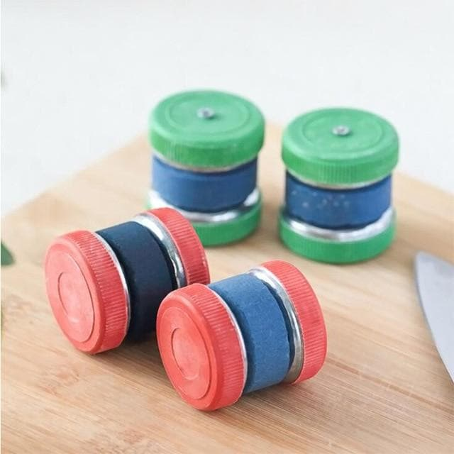 Mini Colorful Kitchen Sharpener-Sharpeners-LuxylGroup, Inc.