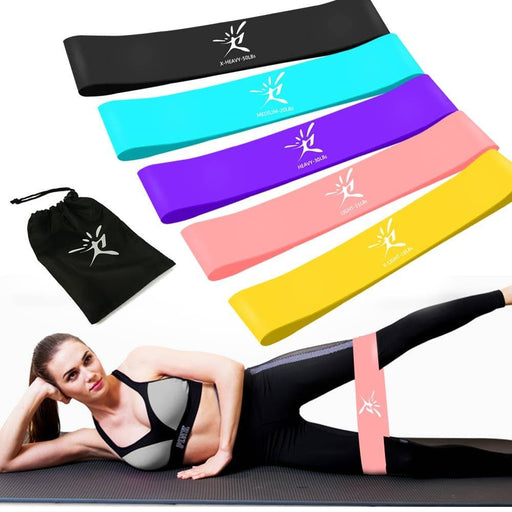 Latex Rubber Workout Resistance Bands-Resistance Bands-LuxylGroup, Inc.