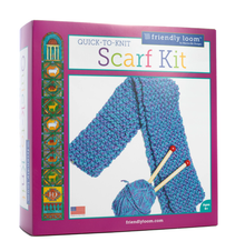 Load image into Gallery viewer, Quick-to-Knit Scarf Kit
