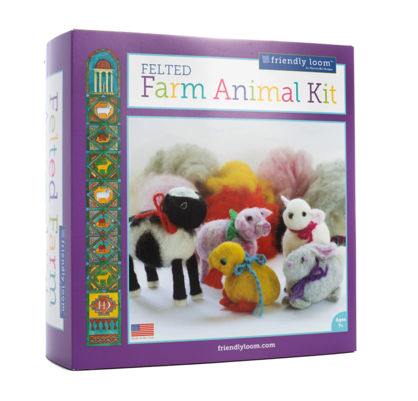 Felted Farm Animal Kit