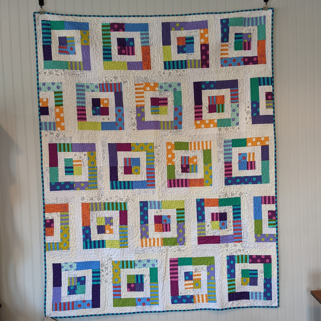 Dots and Dashes quilt