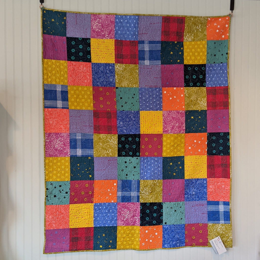 Alison Glass Simplified quilt