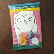 Load image into Gallery viewer, Sew an Owl Kit