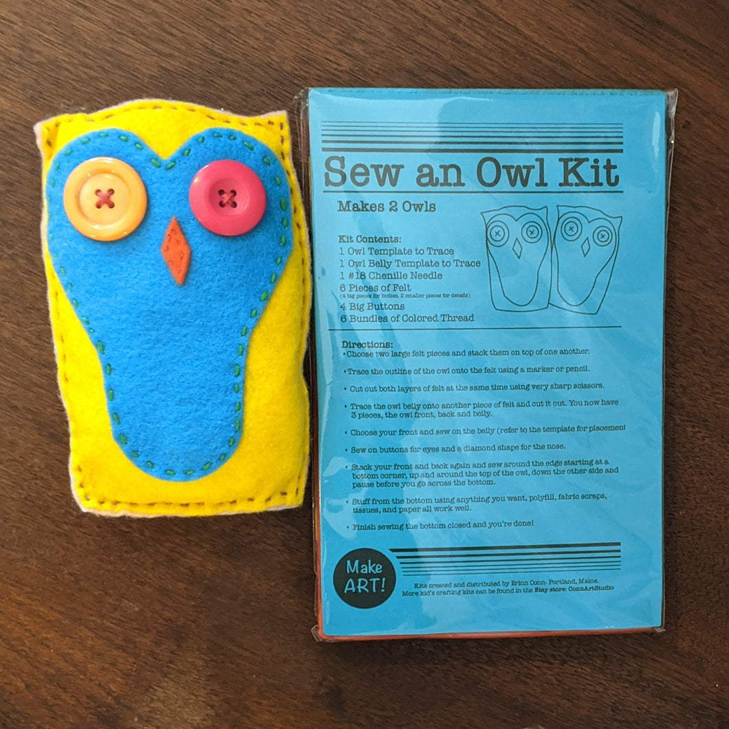 Sew an Owl Kit