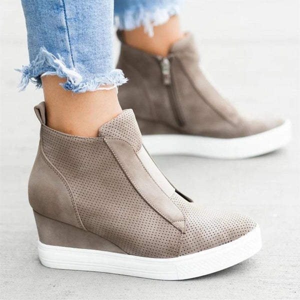 Woman Casual Wedge Sneaker