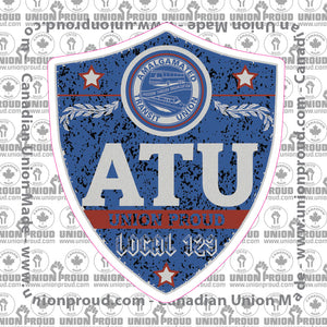 ATU Blue Badge Decal