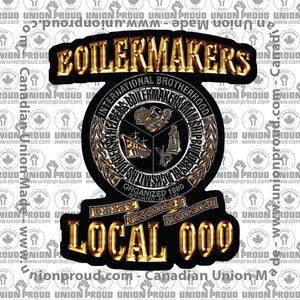 Boilermaker Luxury Decal