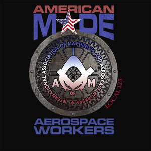 Aerospace Worker Round America Apparel
