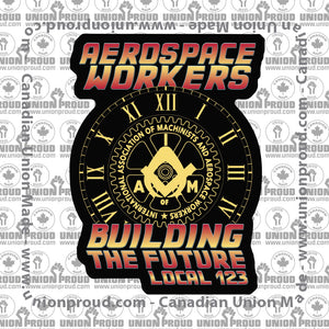 Aerospace Worker Future Decal
