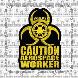 Aerospace Worker - Biohazard Decal