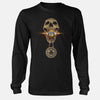 Aerospace Worker Skull Medallion Apparel