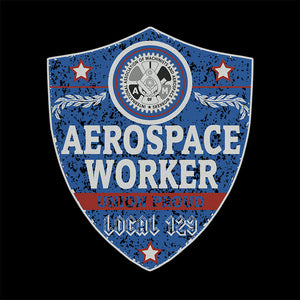 IAM Aerospace Worker Blue Badge Apparel