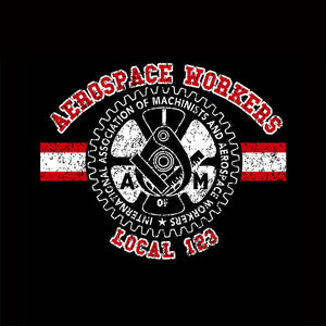 Aerospace Worker Collegiate Red & White Apparel