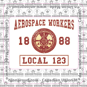 Aerospace Worker College Decal