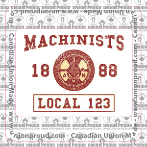 Machinist College Decal