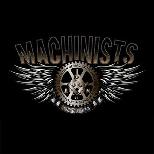 Machinists Steel Wings Apparel