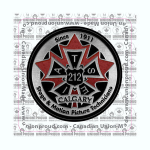 IATSE 212 - Metal Logo Decal