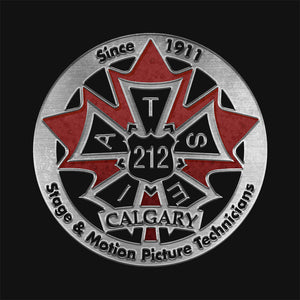 IATSE 212 Logo With Left Chest
