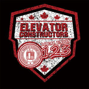Elevator Constructors Canada Shield Union Apparel