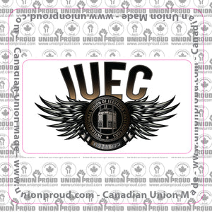 IUEC Steel Wings Decal