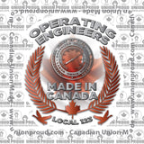 Operating Engineers Canada Decal