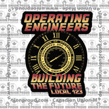 Operating Engineers Future Union Decal