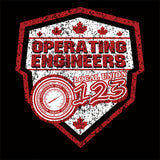 Operating Engineers Canada Shield Union Apparel