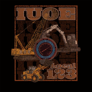 IUOE Gritty Machinery Union Apparel
