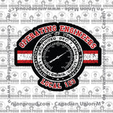 Operating Engineers Collegiate Union Decal
