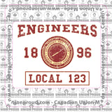 Operating Engineers College Union Decal