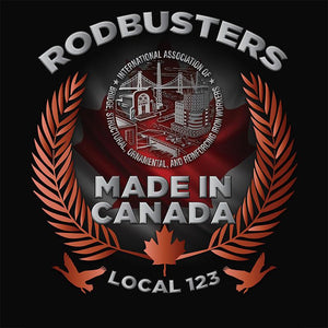 IW Rodbusters Canada Decal